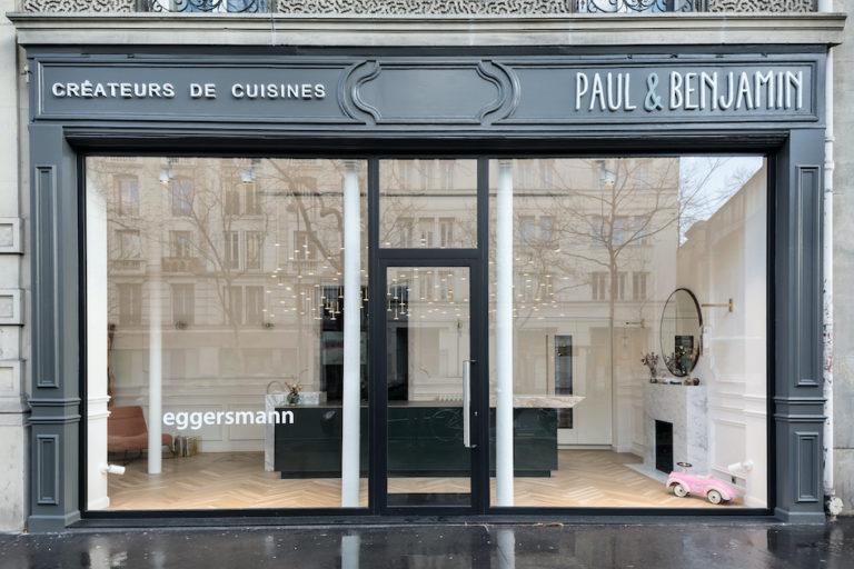 Vitrine cuisine de luxe Paul et Benjamin Paris